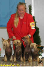 2nd place breeders group - breeder Malgorzata Supronowicz, Poland